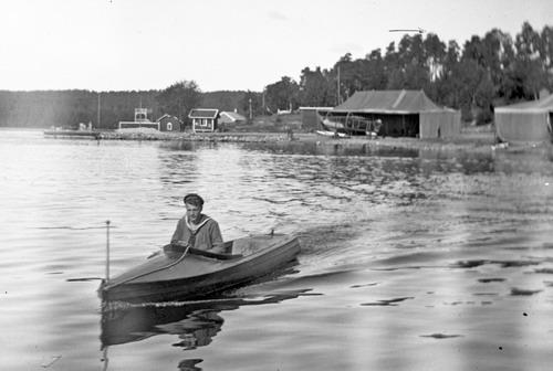 Motorbåt 1918
